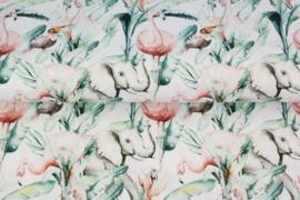 Tricot - aquarel jungle