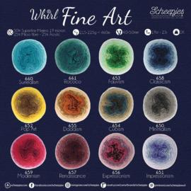Whirl Fine Art - andere kleuren