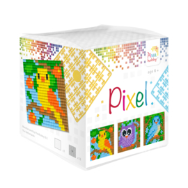 Pixelhobby kubus - vogels