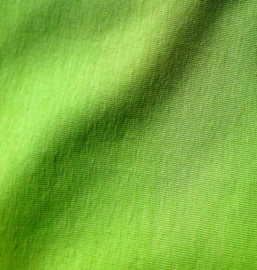 Effen tricot - new lime