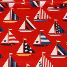 Katoen - USA sail boats red