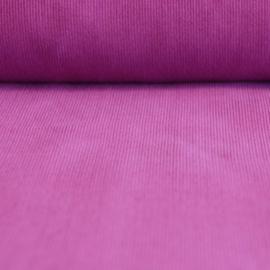 Baby ribfluweel - violet