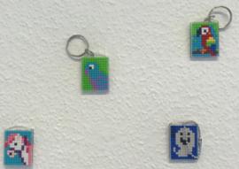 WORKSHOP Pixelhobby sleutelhangers
