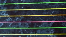 Tricot - Stripe neon tye dye