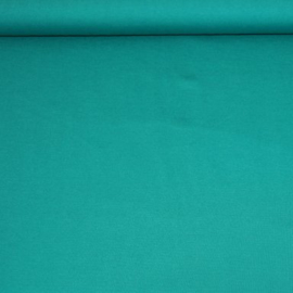 Stevige effen tricot - appelblauwzeegroen