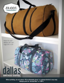 Dallas Vintage Duffel  - Swoon