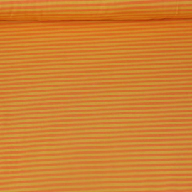 Tricot - Strepen geel oranje