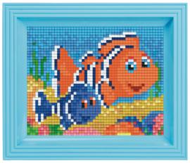 Pixelhobby geschenkverpakking - clownvisjes
