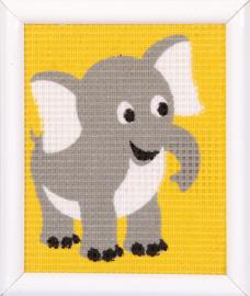 Borduurset - olifant