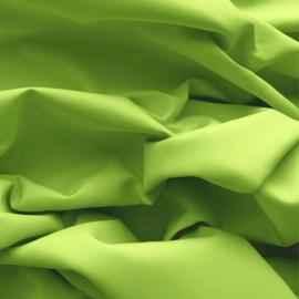 Effen katoen - Lime