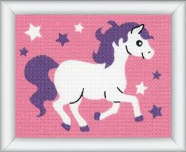 Borduurset - paardje