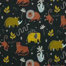 Tricot - Wild animals gray