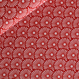 Katoen - Blowballs gebrand rood