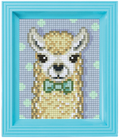 Pixelhobby geschenkverpakking - alpaca