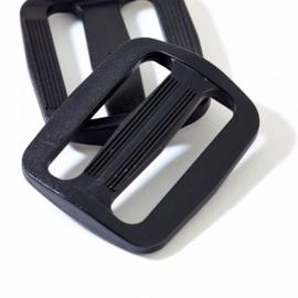 Prym regelbare gesp 30mm zwart