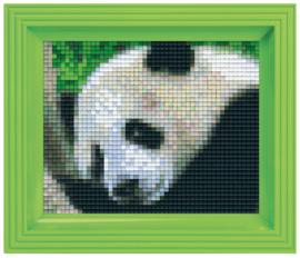 Pixelhobby geschenkverpakking - panda