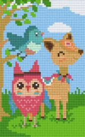 Pixelhobby set - animals - 2 basisplaten