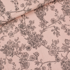 Double gauze - cherry Blossom Pale Pink