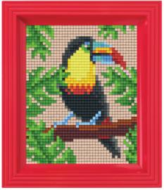 Pixelhobby geschenkverpakking - jungle toekan