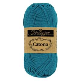Catona - 400 petrol blue