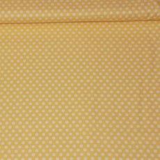 Katoen - Basics kiss dot yellow