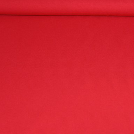 Stevige effen tricot - rood