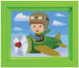 Pixelhobby geschenkverpakking - piloot