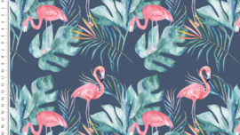 Tricot - Flamingo navy