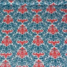 Katoen - Vintage vogue blue