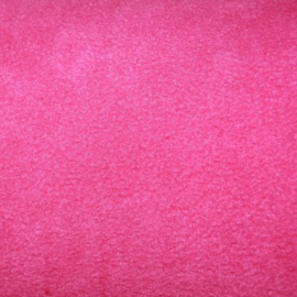 Kortharige fleece - Fuchsia