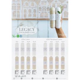 Legacy - andere kleuren en maten