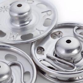 Prym aannaaidrukknopen 21mm zilver