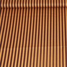 Katoen - Basics clown stripe cappucino