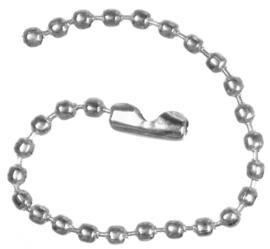 Aluminium kettinkje - 3 stuks