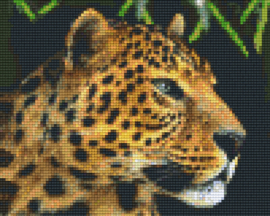 Pixelhobby set - panter - 4 basisplaten