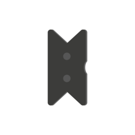 Pixel zwaluwstaartjes