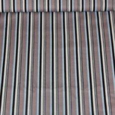 Katoen - Sporty stripes gray