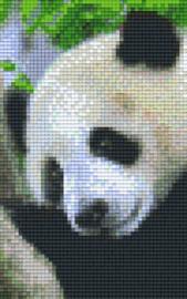 Pixelhobby set - pandabeer - 2 basisplaten