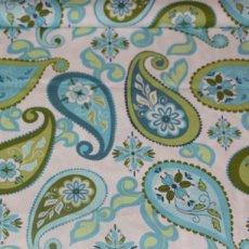 Katoen - Splendor paisley blue