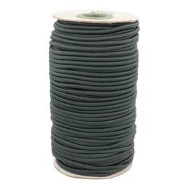 Koord elastiek 3mm - grijs