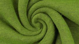 Sweater - Melange black yarn green