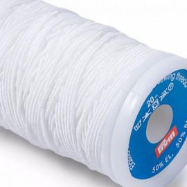 Prym elastisch naaigaren wit
