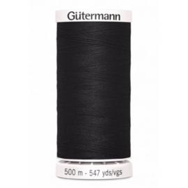 Gütermann allesnaaigaren 500m zwart