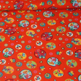 Tricot - Bugs and butterflies orange