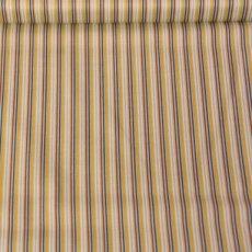 Katoen - Rocket stripes blue