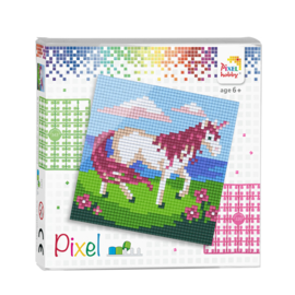 Pixelhobby set - eenhoorn