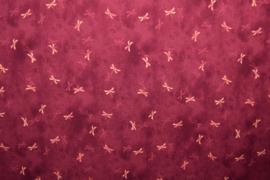 Viscose - Libelles pink