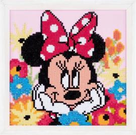 Diamond painting - Minie Mouse dagdroomt