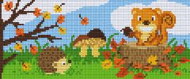 Pixelhobby set - herfst - 3 basisplaten