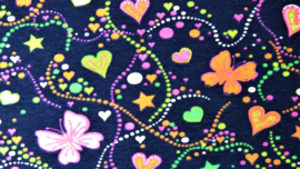Tricot - Butterfly neon dark jeans